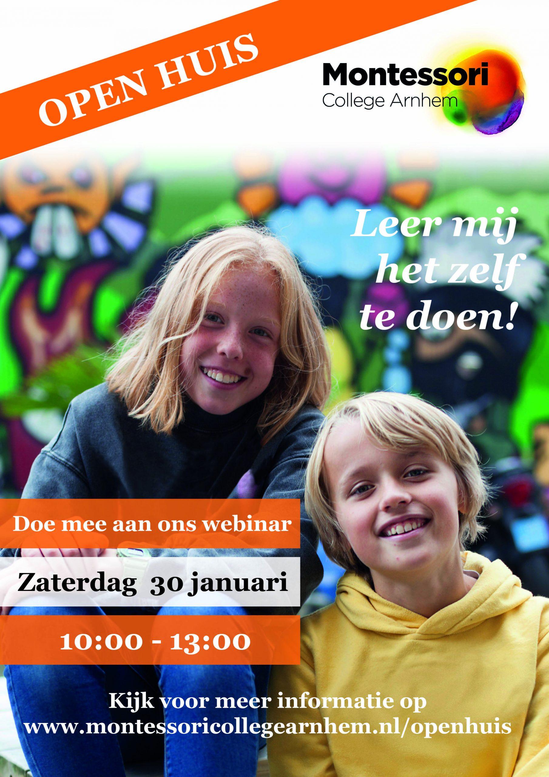 Online Open Huis Montessori College